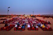 Arabian style Desert safari dubai camp