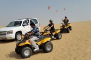evening desert safari with quad bike Dubai Quad Bike Desert Safar