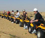 evening desert safari with quad bike Dubai Quad Bike Desert Safari
