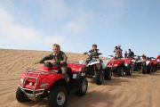 Quad biking evening desert safari dubai