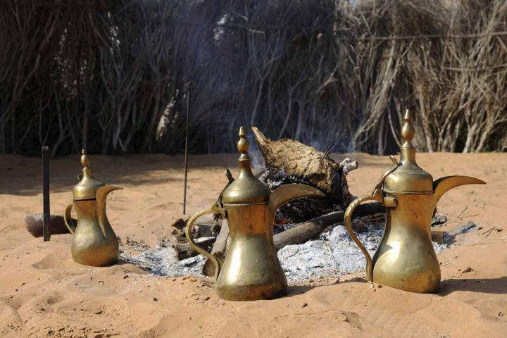Traditional Arabic Tea Desert Safari with BBQ Dinner from Dubai, Sharjah & Ajman Hotels