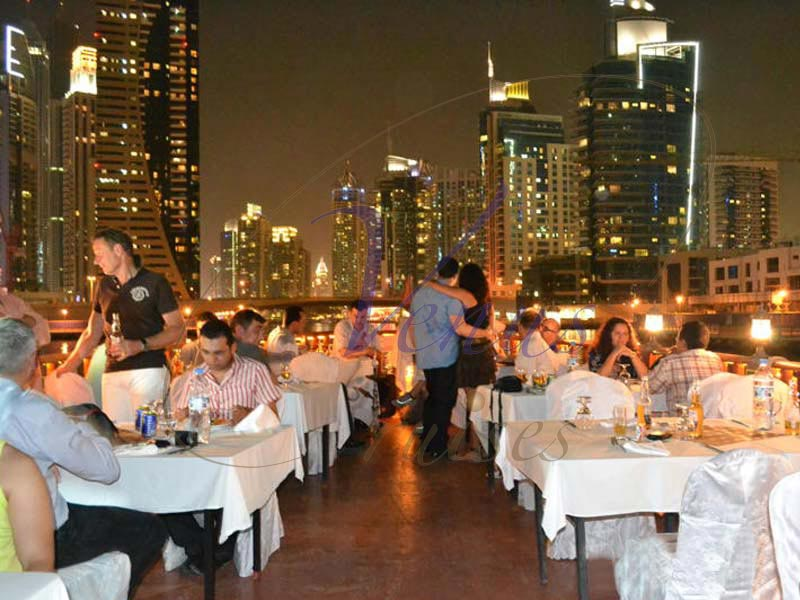 Dhow Cruise Dinner Marina Dubai Adventures Tours And