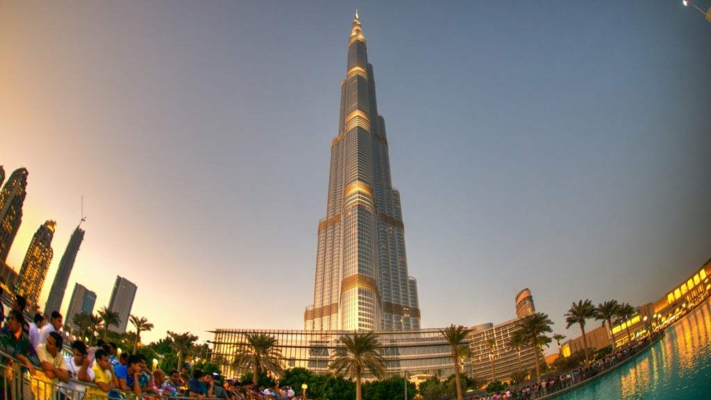 Burj Khalifa Tour World Tallest Building Book Tour
