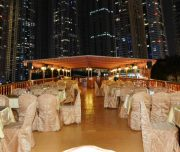 marina dhow cruise open air deck