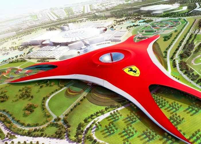 Ferrari Word Tour Abu Dhabi Fastest Roller Coaster In