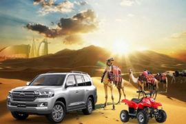 own car desert safari deals