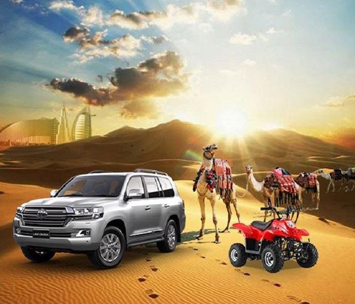 own car desert safari deals