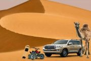 sharjah safari camel ride