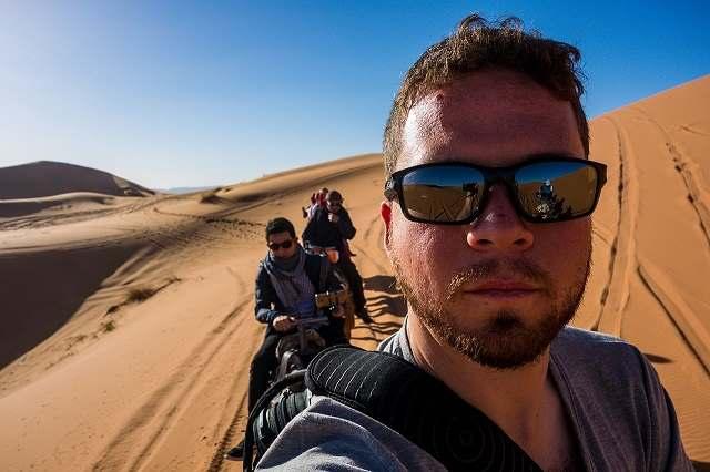 sunglasses in desert safari dubai