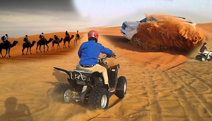 desert safari with quad biking