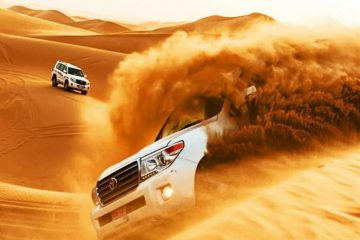 dune bashing Dubai image